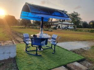 Exclusive : Meet Oluwatobi Oyinlola, 28 year old Nigerian who built world's first solar powered outdoor work station equipped with IoT