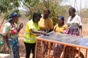 Norah Magero wants to improve energy access for farmers in Kenya